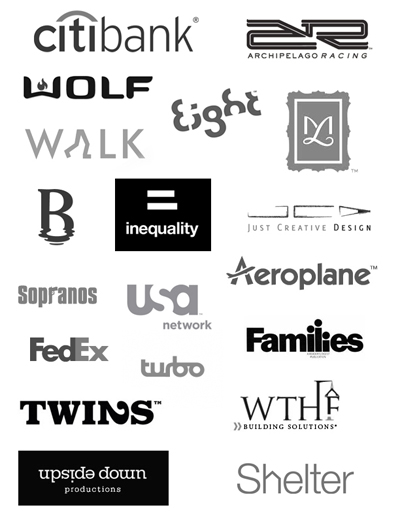 Successful Typeface Logos