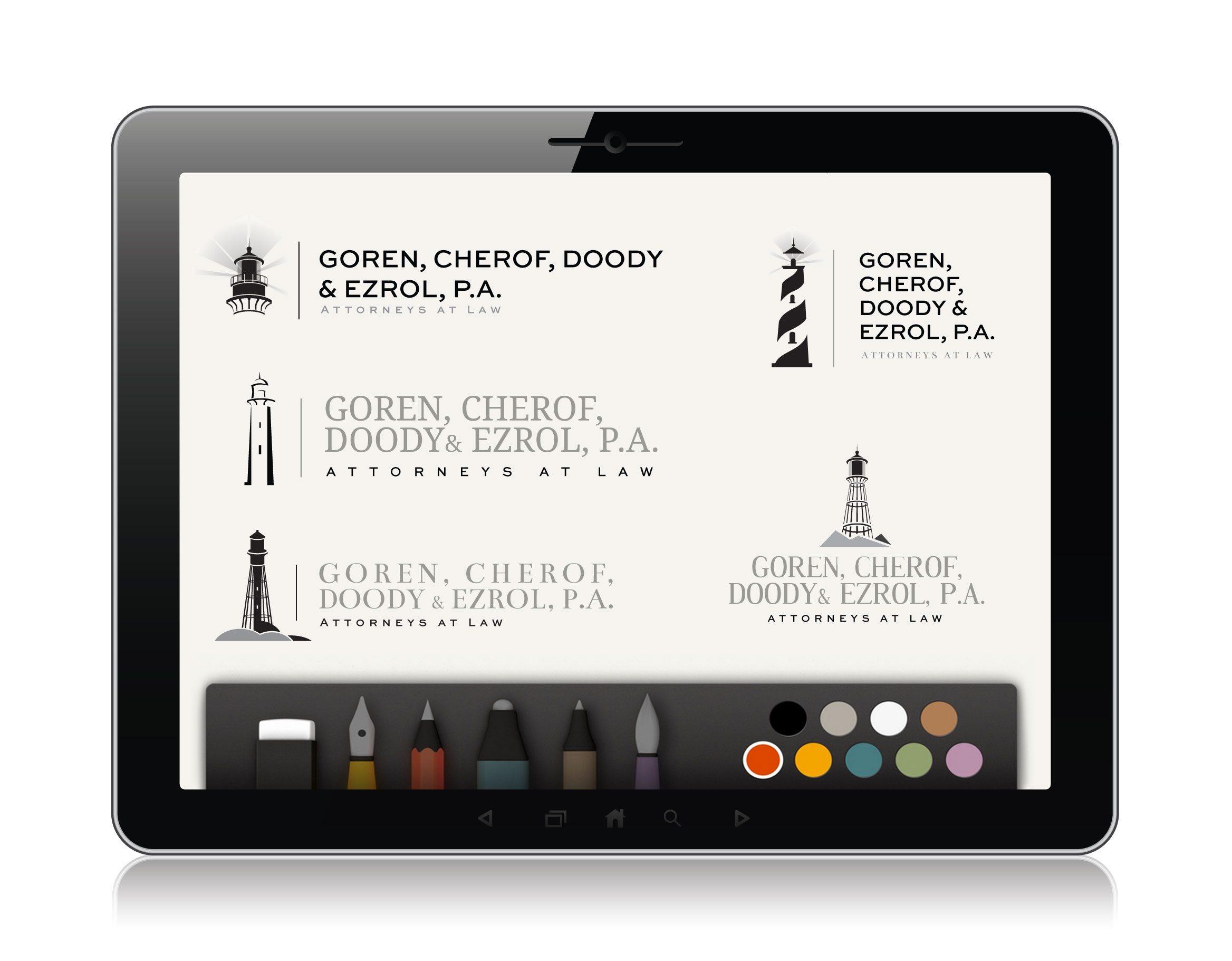 Awesome iPad App to Create Sketches for Vector Logo Design