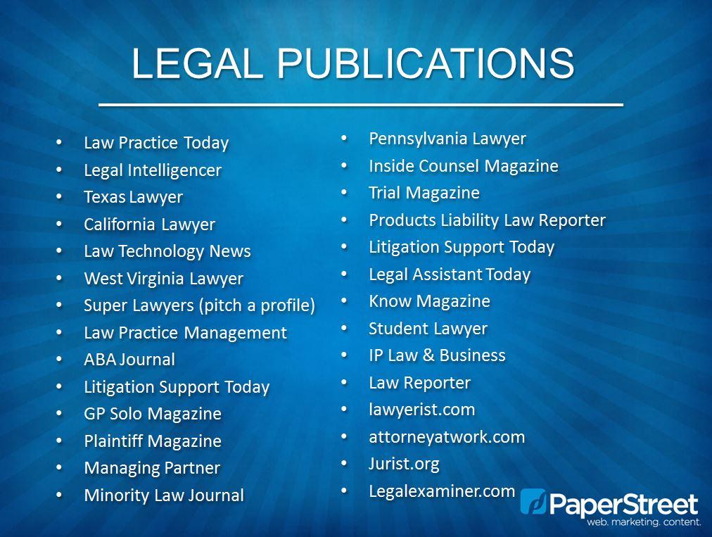 Legal-Publications