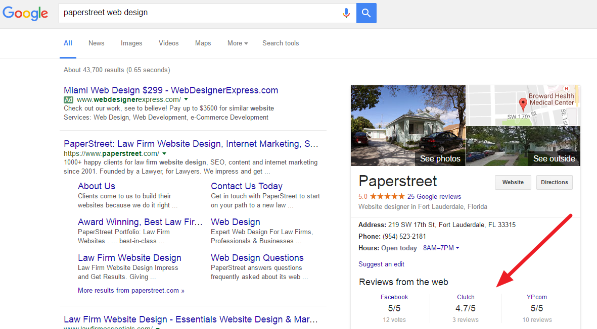 Google Now Showing Reviews from the Web in Search Results