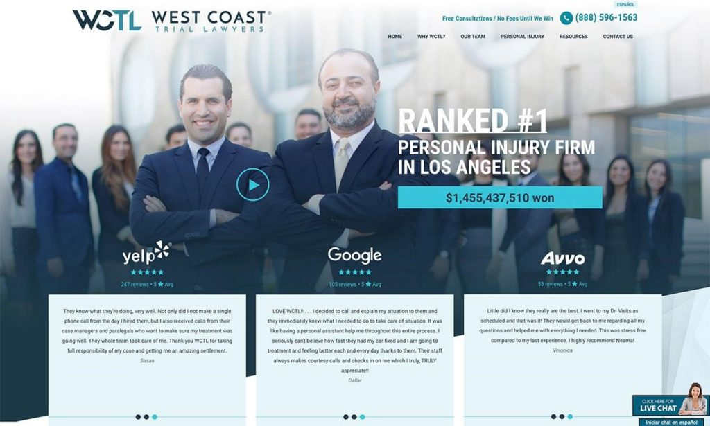 Custom Images for Law Firm Website Design