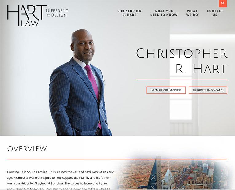 chrishartlaw.com bio