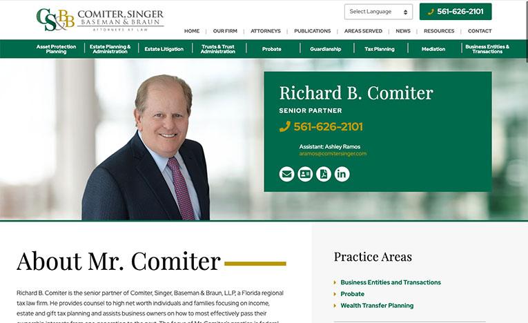 comitersinger bio