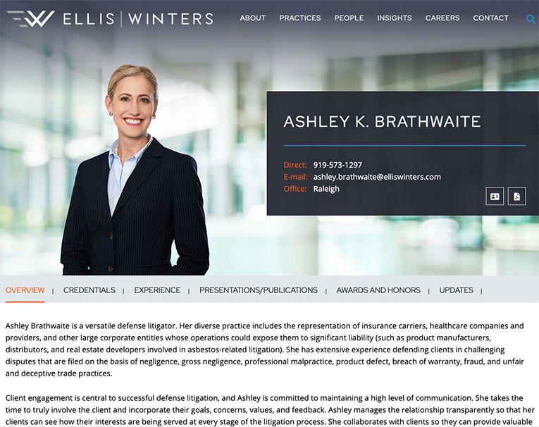 elliswinters bio