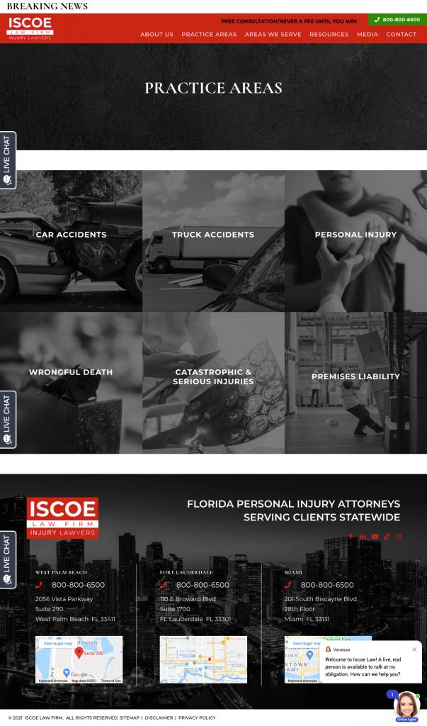 iscoelaw-practices screenshot