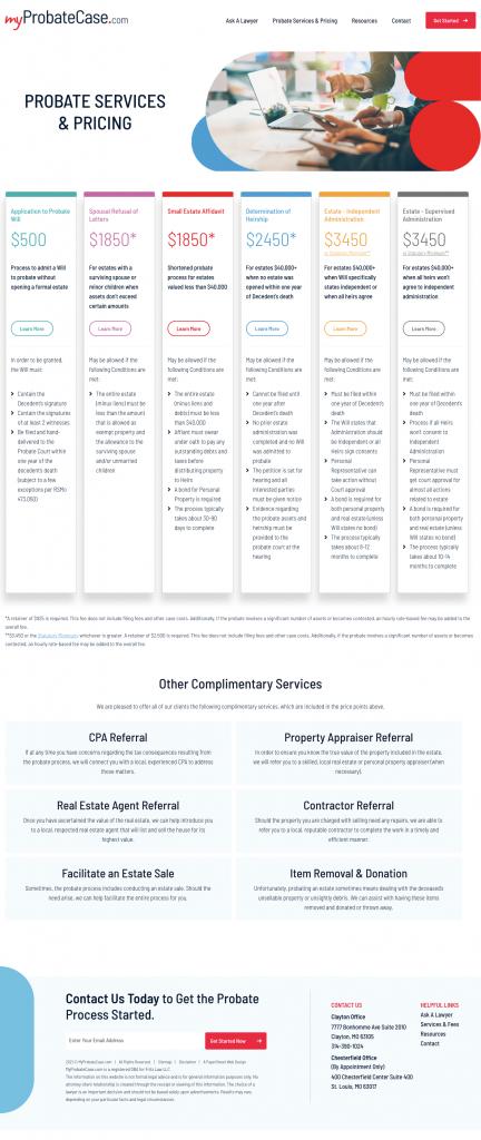myprobatecase-probate-services screenshot