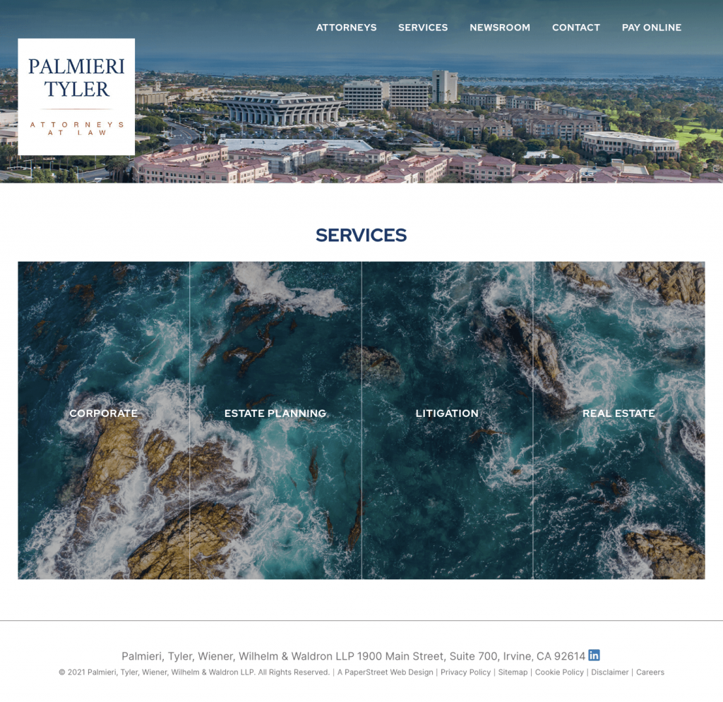 ptwww-services screenshot