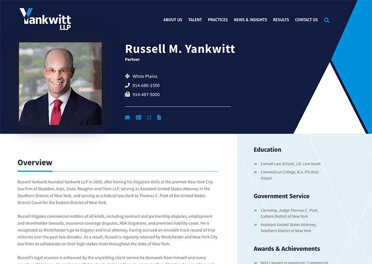 yankwitt bio