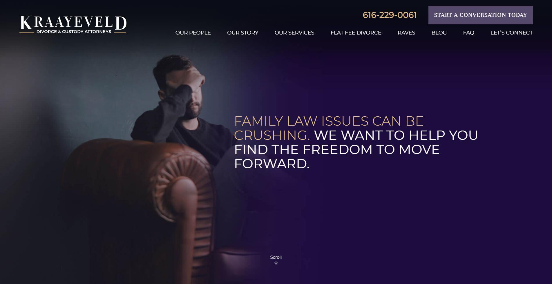 kraayeveld.com homepage