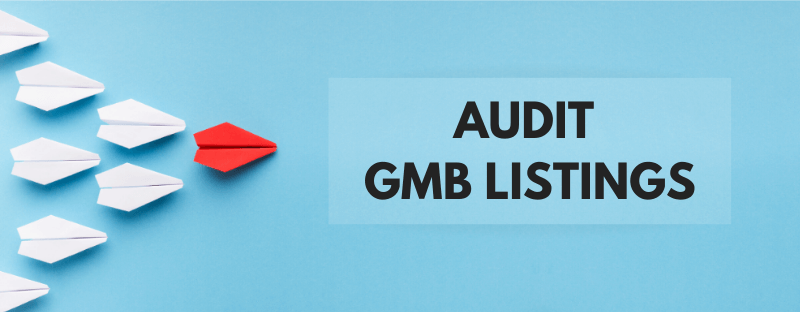 Google My Business Listing Audit
