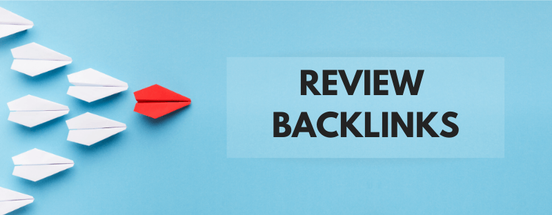review competitor backlinks