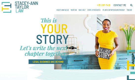 Stacey-Ann Taylor Law Website