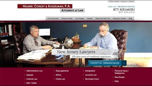 helmer legal homepage