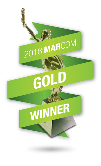 Gold in the Marcom Awards!