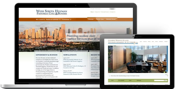 Web design for Miami