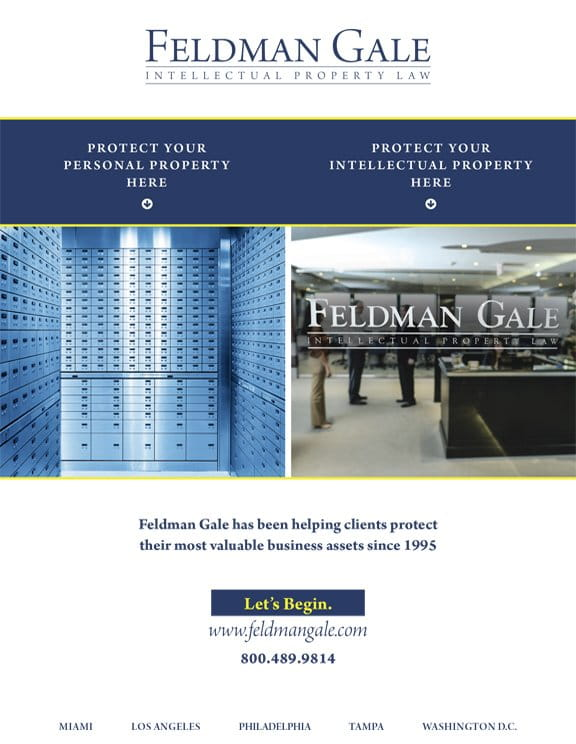 Feldman Gale advertisement site thumbnail