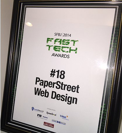 Paperstreet Awards 2015