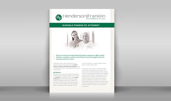Law Firm Brochure Design - Wow Your Clients With An Impressive
