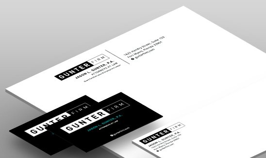 Gunter Firm corporate identity