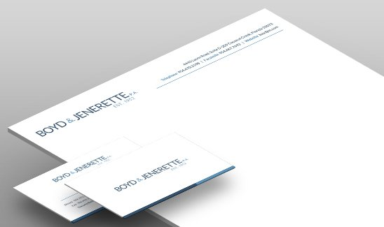 Boyd Jenerette corporate identity