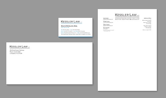 Kessler Law corporate identity