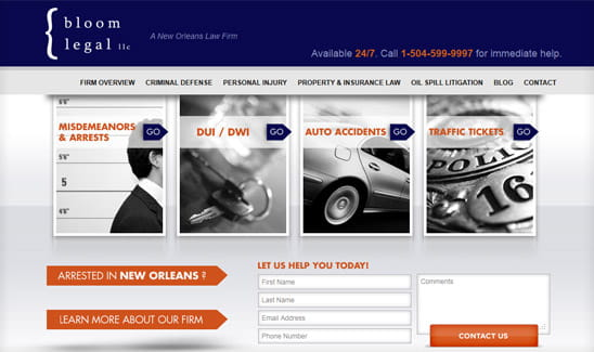 Bloom Legal, a solo attorney personal injury and criminal law firm in New Orleans