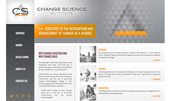 Change Science Institute, LLC site thumbnail
