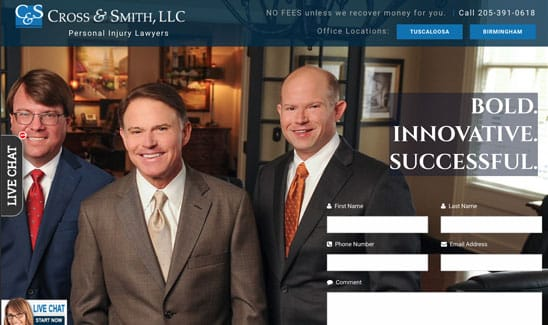 Cross & Smith LLC site thumbnail