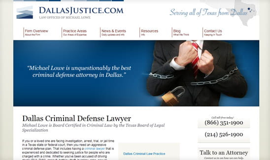 Dallas Justice site thumbnail