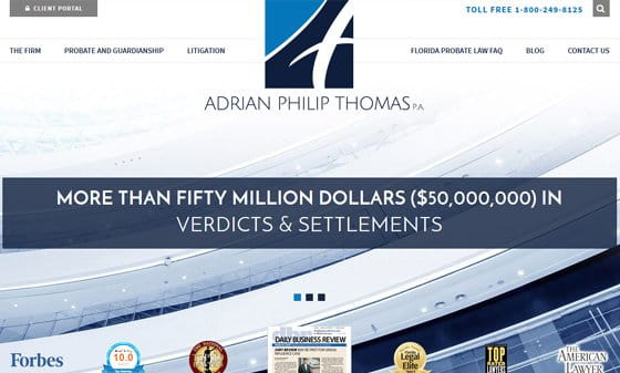 Adrian Philip Thomas site thumbnail