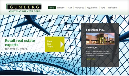 Gumberg Asset Management Corp. site thumbnail