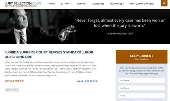 Award Winning, Best Law Firm Website Design - PaperStreet Portfolio