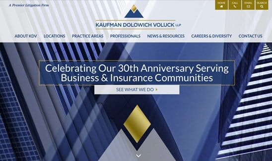 Kaufman Dolowich & Voluck, LLP site thumbnail