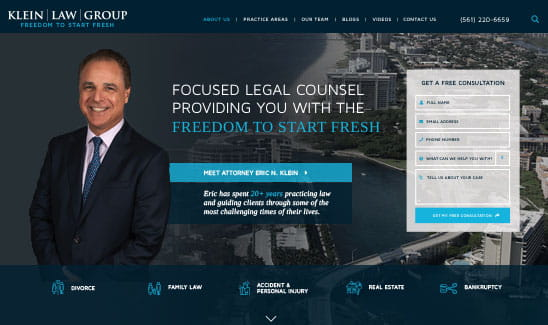 Klein Law Group site thumbnail