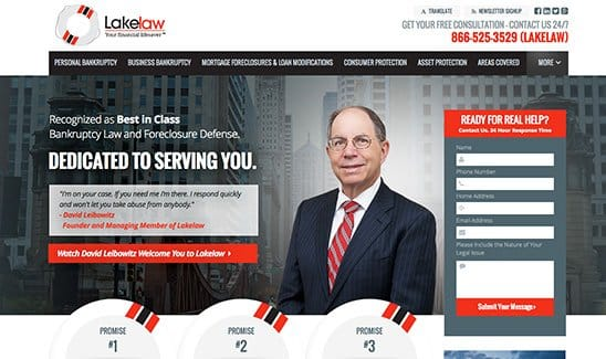 Lakelaw, a Chicago bankruptcy law firm