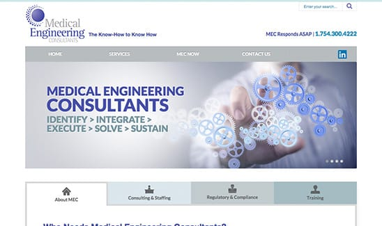 Medical Engineering Consultants, LLC site thumbnail