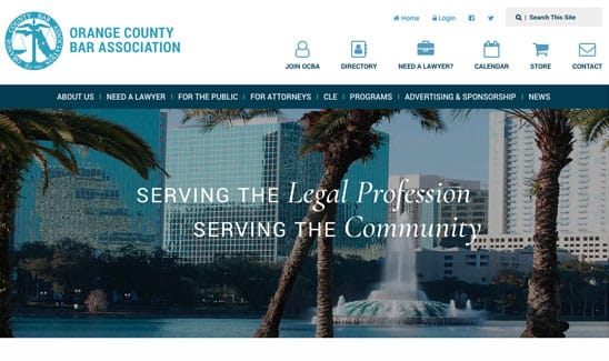 Orange County Bar Association site thumbnail