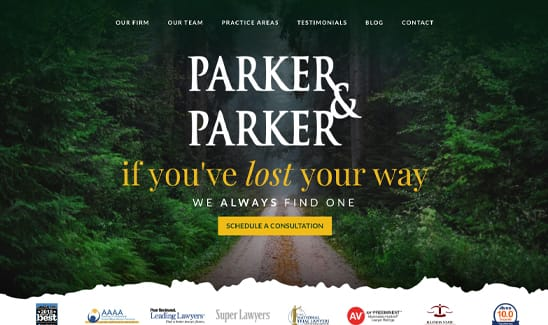 Parker and Parker site thumbnail