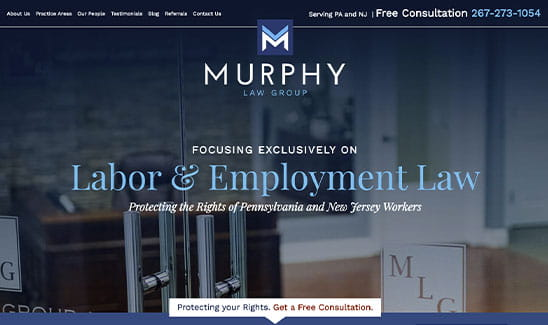Murphy Law Group, LLC site thumbnail