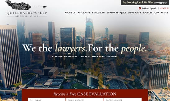 Quill & Arrow, LLP site thumbnail