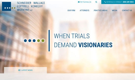100 Best Law Firm Websites - Award-Winning Designs by PaperStreet
