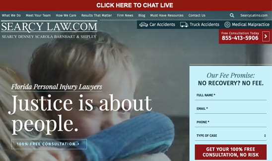 Searcy Law site thumbnail