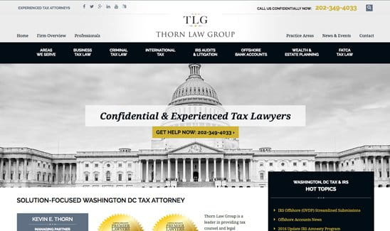 The Lincoln Law Firm site thumbnail