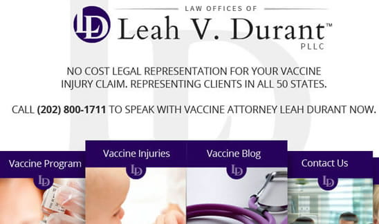 Leah Durant - Vaccine Law