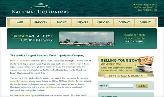 National Liquidators site thumbnail