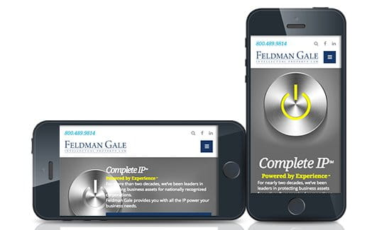 Feldman Gale, a national firm practicing intellectual property and litigation.