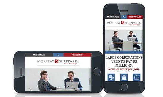 Morrow & Sheppard is a personal injury and business dispute law firm in Texas.