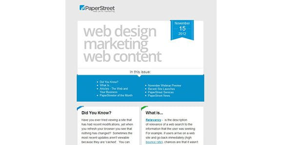 Paperstreet Law Firm Web Design