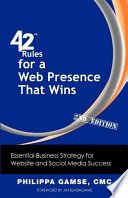 42 Rules for a Web Presence That Wins - Book Cover